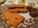 The last of the Christmas spekulatius biscuits. 13/365