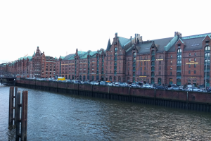 Looking over to the HafenCity